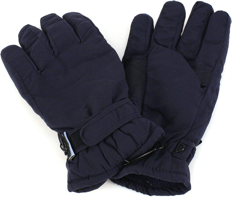 Mens Winter Thinsulate 3M Waterproof Hook/&Loop Ski Snow Gloves