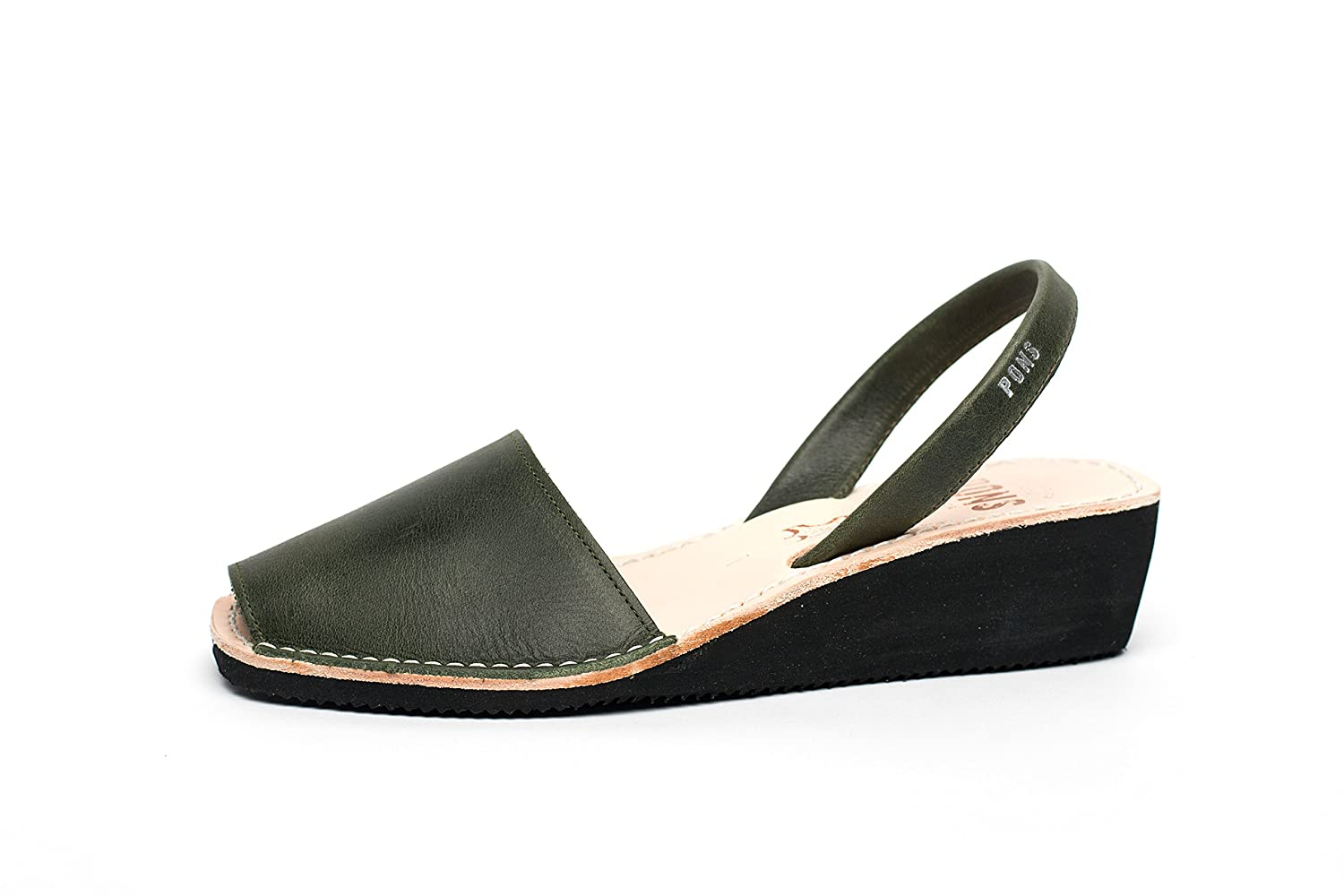 Forest Green Pons 2021 - Avarca Wedge Taupe
