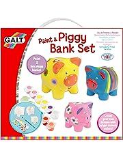 Galt Paint a Piggy Bank Set,Craft Kit