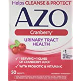 AZO All Natural Concentrated Cranberry Tablets, 50 Count