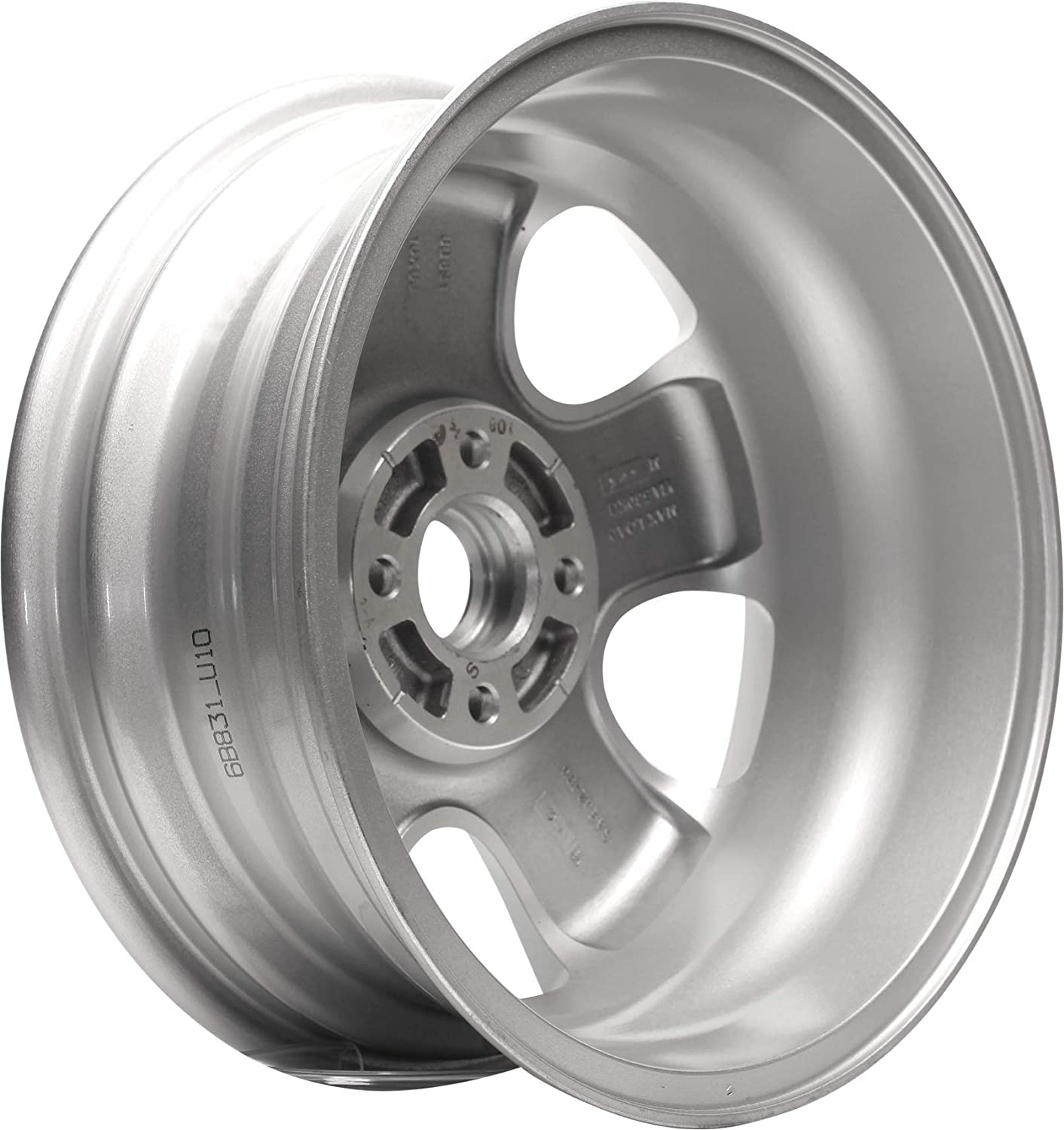 Partsynergy Replacement For New Replica Aluminum Alloy Wheel Rim 16 Inch Fits 2005-2007 Ford Focus 4-108mm 5 Spokes