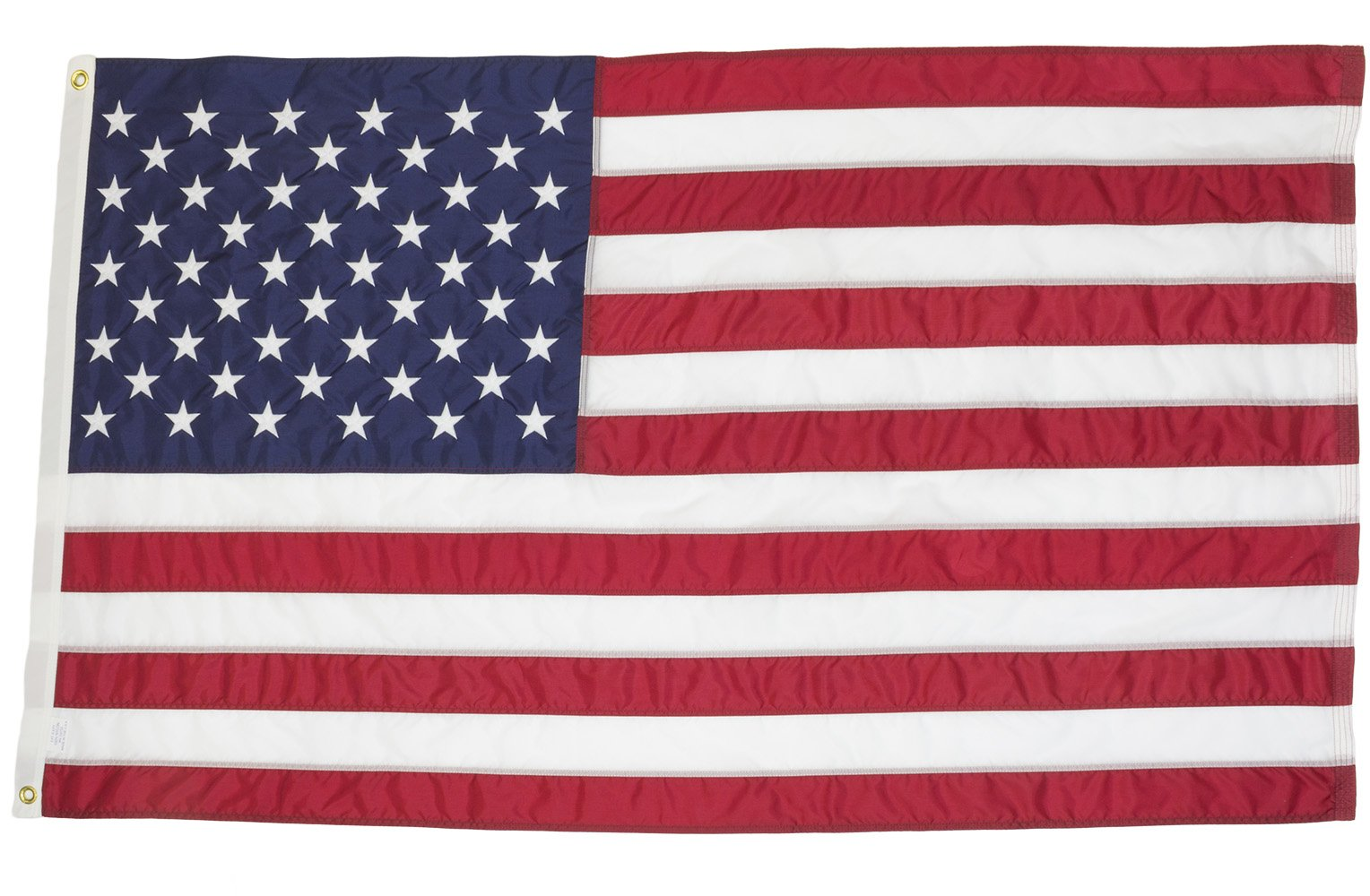 Wilbork American Flag - 100% Made in USA - Strong Like Americans Made by Americans: Embroidered Stars - Sewn Stripes 6x10 ft Outdoor Flag by Wilbork (Image #3)