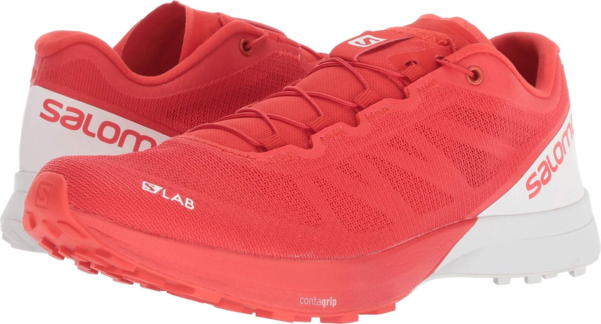 quality design 81752 6f2ca Salomon S-Lab Sense 7 Trail Running Shoes - Racing Red/White/White 6