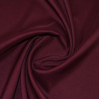 Wine Duchess Satin Fabric