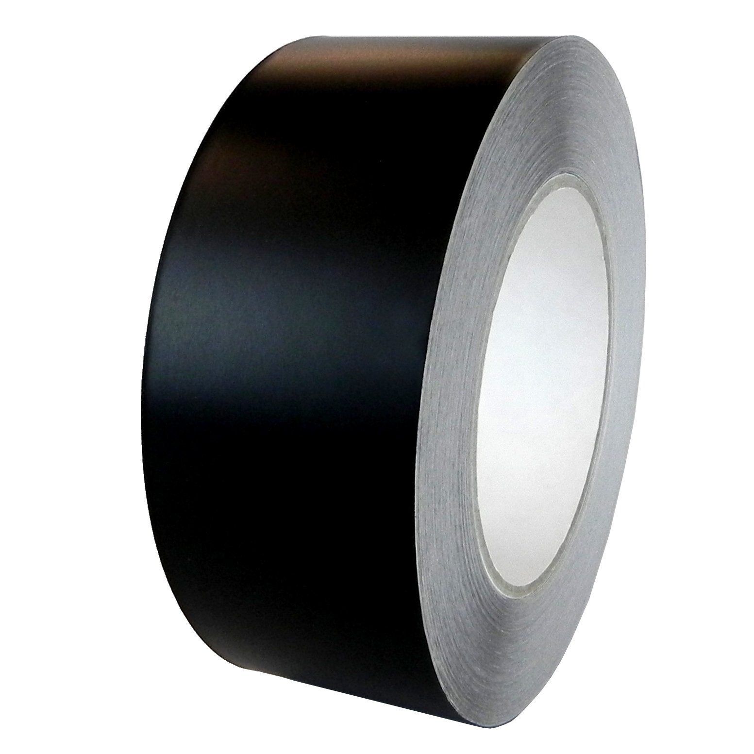T.R.U. AF-22A-B Aluminum Foil Black Matte Tape Non Reflective with Acrylic Adhesive. Available in Multiple Sizes (2'' X 55 Yards (50Mts) Pack of 3)