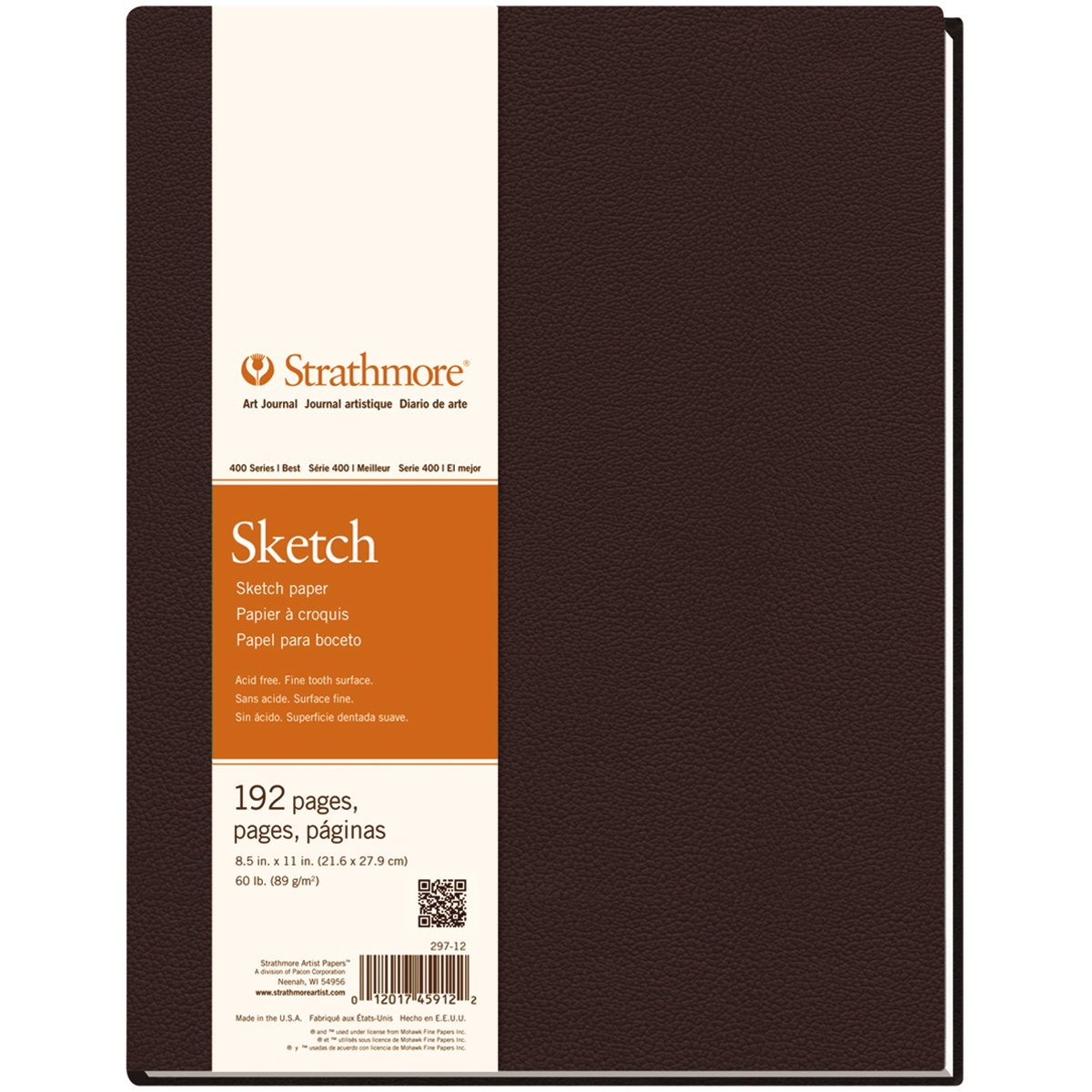 """Strathmore Sketch Journal 11″""""X14″""""-96 Sheets"""