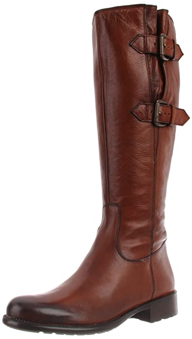 Amazon.com | Clarks Women's Mullin Spice Harness Boot | Knee-High
