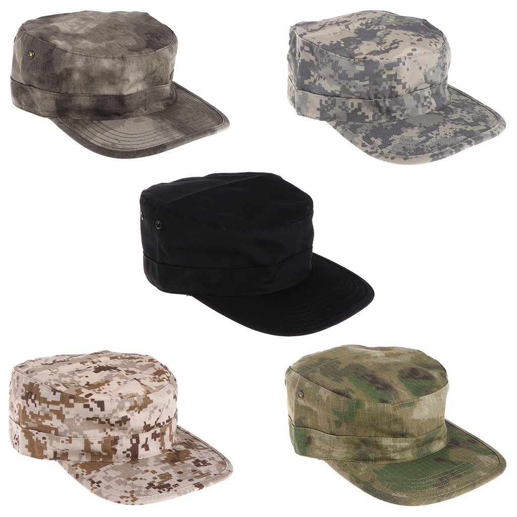 Lamdoo Military Tactical Camo Cap Army Baseball Hat Patch Digital Desert  SWAT CP Caps Green Camo 0afd9af9e8ac