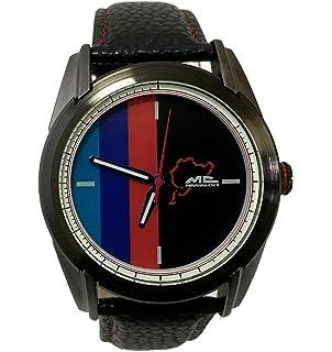 MCPerformance Reloj para Hombre analogico Cuarzo japones con Correa de Piel Sintetica MF409