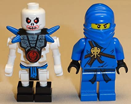 Amazon.com: NEW 2 Lego Ninjago Minifigures Jay & Krazi BLUE ...