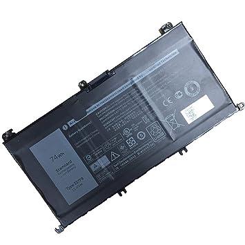 357F9 batería del Ordenador portátil para DELL Inspiron 15 7559 7000 INS15PD-1548B INS15PD-1748B INS15PD-1848B(11.4V 74Wh): Amazon.es: Electrónica