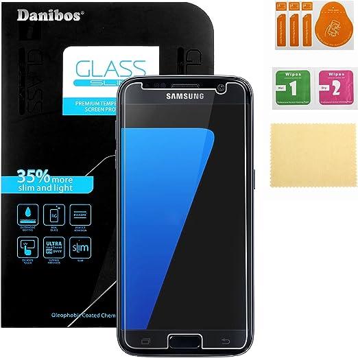 Samsung Galaxy S7 Templado Cristal, Danibos Protector De Pantalla ...