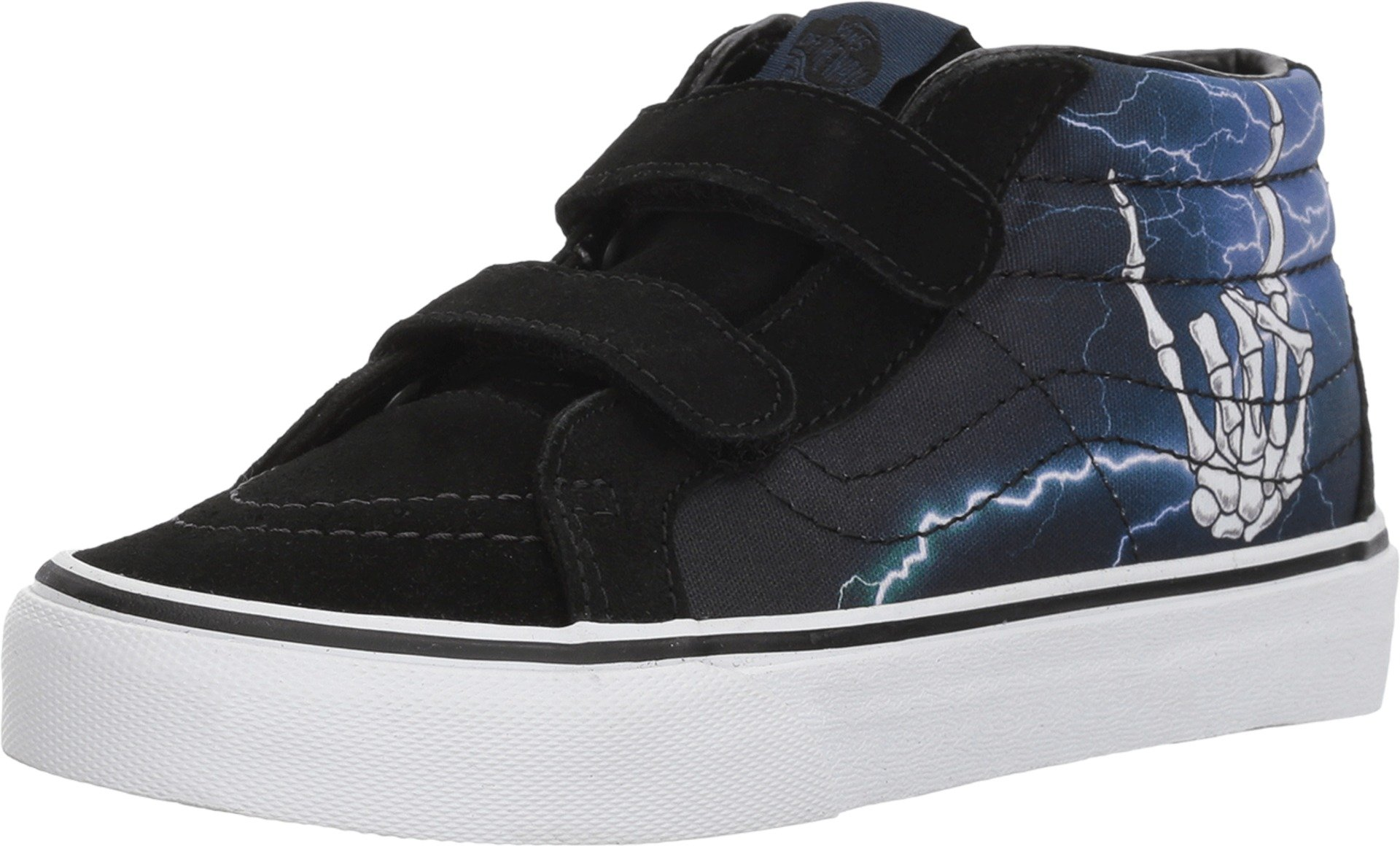 525d68a3e8 Galleon - Vans Kids Rocker Bones Lightning Black SK8-Mid Reissue V  VN0A346YQ8A Kid s Size 13.5