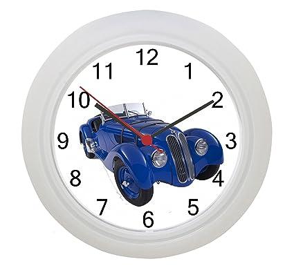 1936 BMW 328 reloj de pared