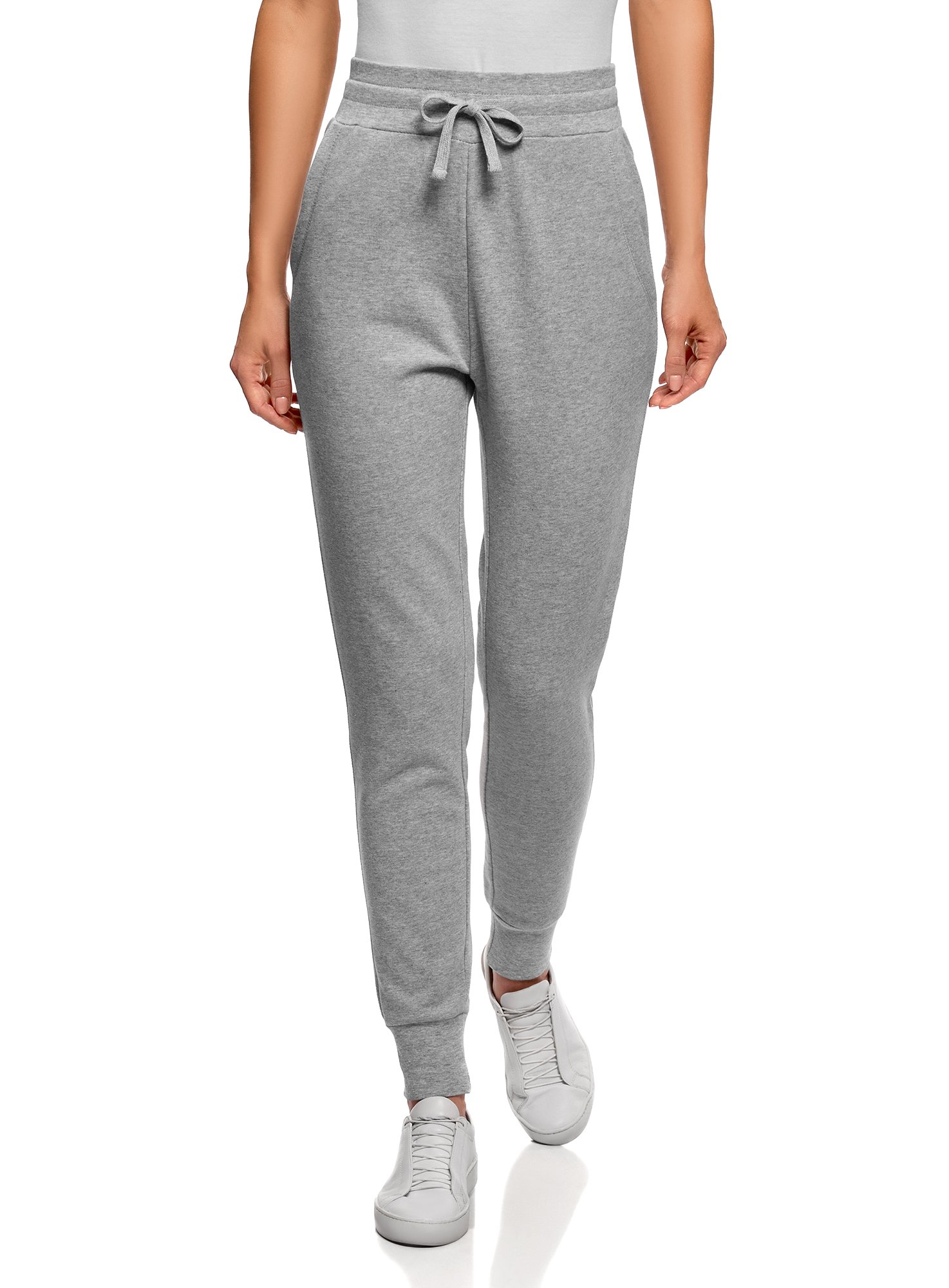 oodji Ultra Mujer Pantalones de Punto con Cordones product image