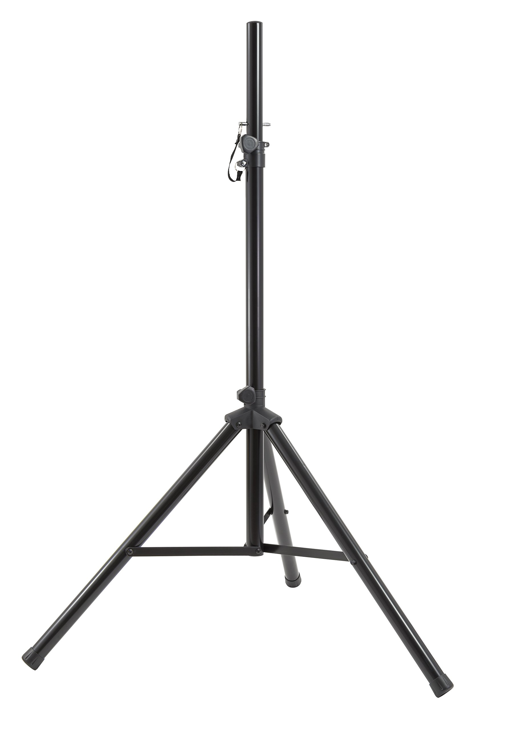 Gemini Series ST Professional Audio DJ Fold-Out Telescoping Tripod Stands Up to 80'' Tall, 1 Pack (ST)