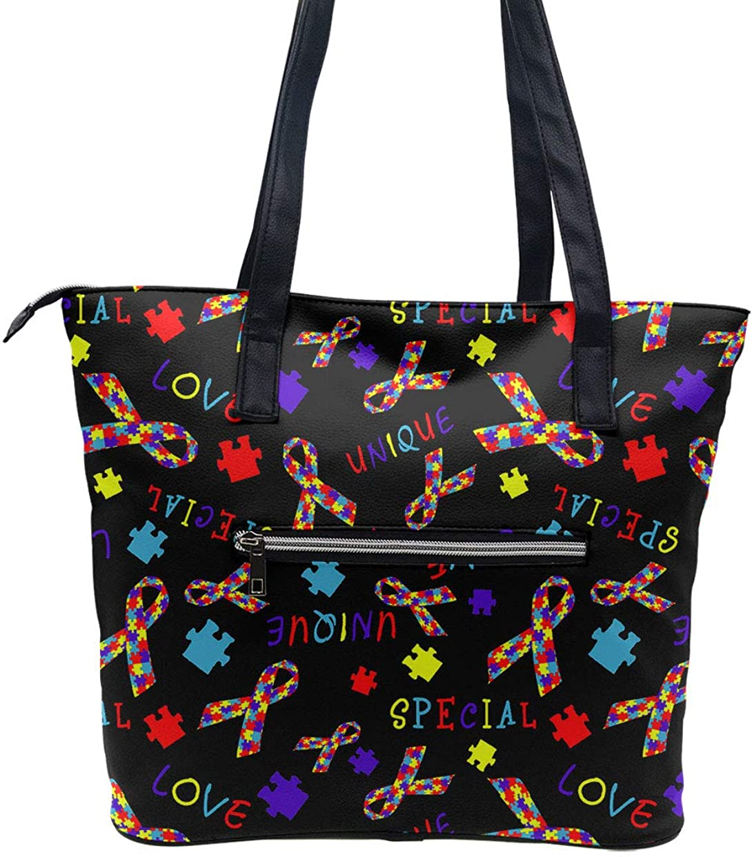 Shopping Bag I love my child with Autism Autism Tote Autism Awareness Ribbon