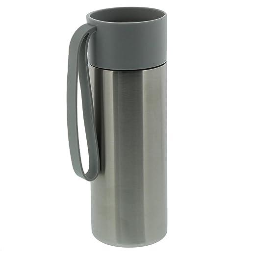Eva Solo 5706631162388 isolierbecher, 350 ml, acero inoxidable, Midnight gris, 20,7 x 7,8 x 7,8 cm: Amazon.es: Hogar