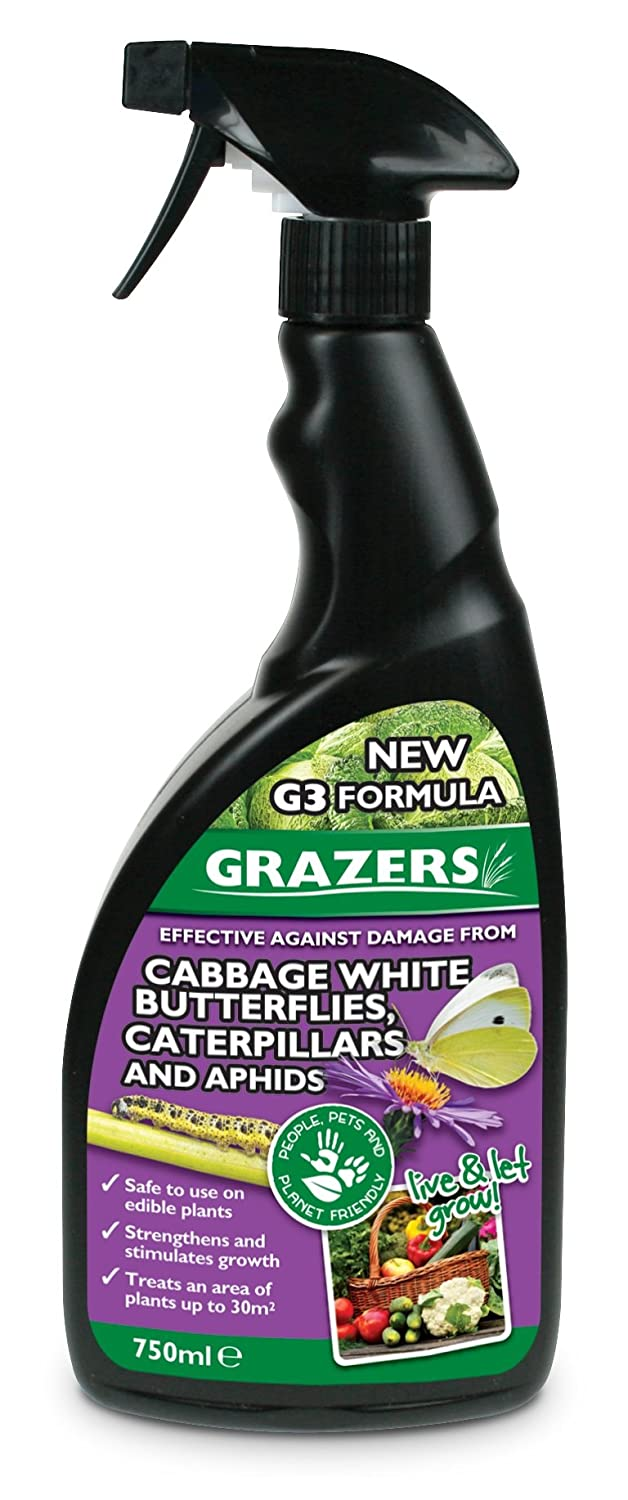 Grazers G3 750ml RTU cabbage white butterflies, caterpillars and aphids