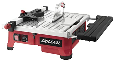2. SKIL 3550-02 7-Inch Wet Tile Saw with HydroLock Water Containment System