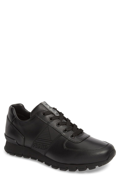 [プラダ] メンズ スニーカー Prada Linea Rossa Sneaker (Men) [並行輸入品] B07D75VFJ5