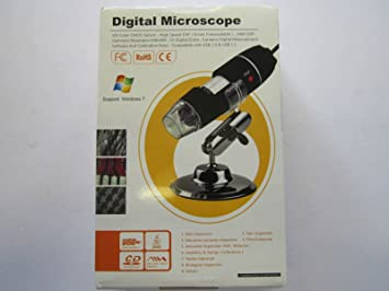 Usb 2.0 1 digital mikroskop mit 200 x: amazon.de: elektronik