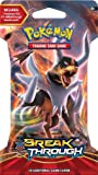 "Pokemon XY8 ""Break Through"": 1 Booster Pack con 10 Tarjetas Adicionales para Pokemon TCG (Inglés)"