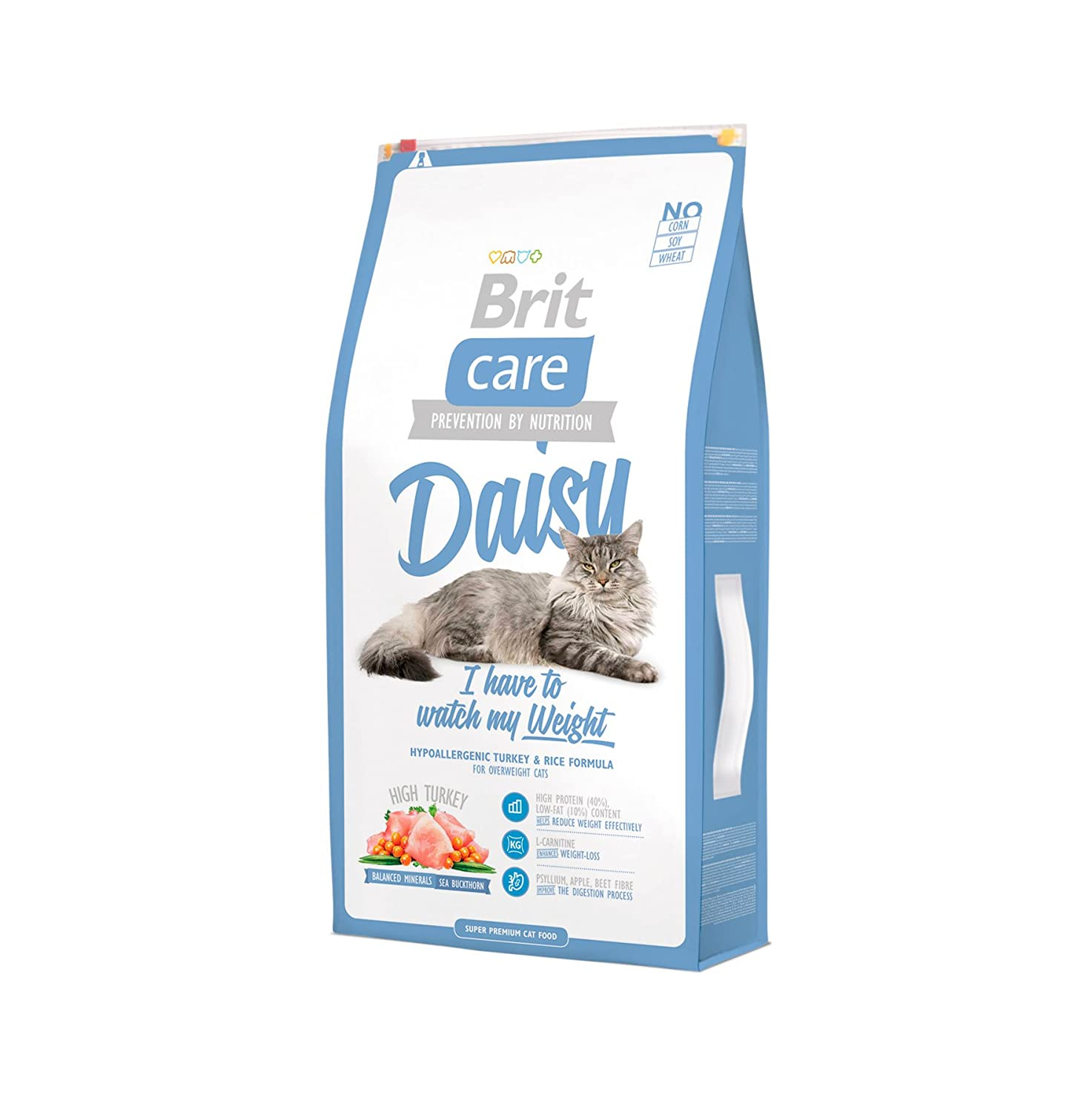 Brit Care Cat Food, Daisy, I Have To Watch My Weight, 7 kg