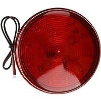 SODIAL(R) Luz de alarma Rojo LED luz estroboscopica