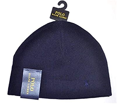 a7bff693 Image Unavailable. Image not available for. Color: Ralph Lauren Polo  Thermal Beanie Men's ...
