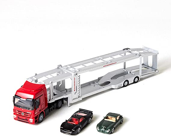 The Toy Company Metal World Autotransporter mit Autos ab 9