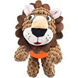 Dog Durable Squeaky Plush Toy oneisall Pet Training Biting Squeak Chew Toys,for Boredom Small and Medium Dogs