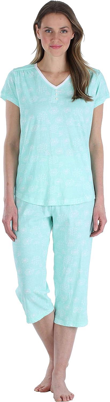 Sleepyheads Womens Sleepwear Cotton Short Sleeve Pajama Set