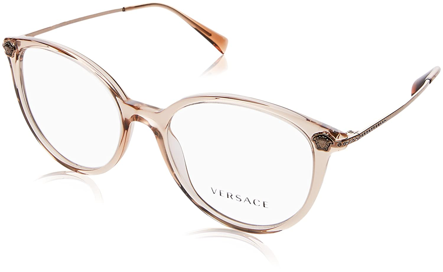 190965b90e Amazon.com  Eyeglasses Versace VE 3251 B GB1 BLACK  Clothing