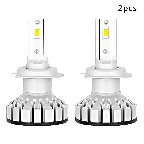Coche LED Faro Bombilla-50W 12000LM Super Brillante Luz Blanca Con Chip Philips Sustituir Para