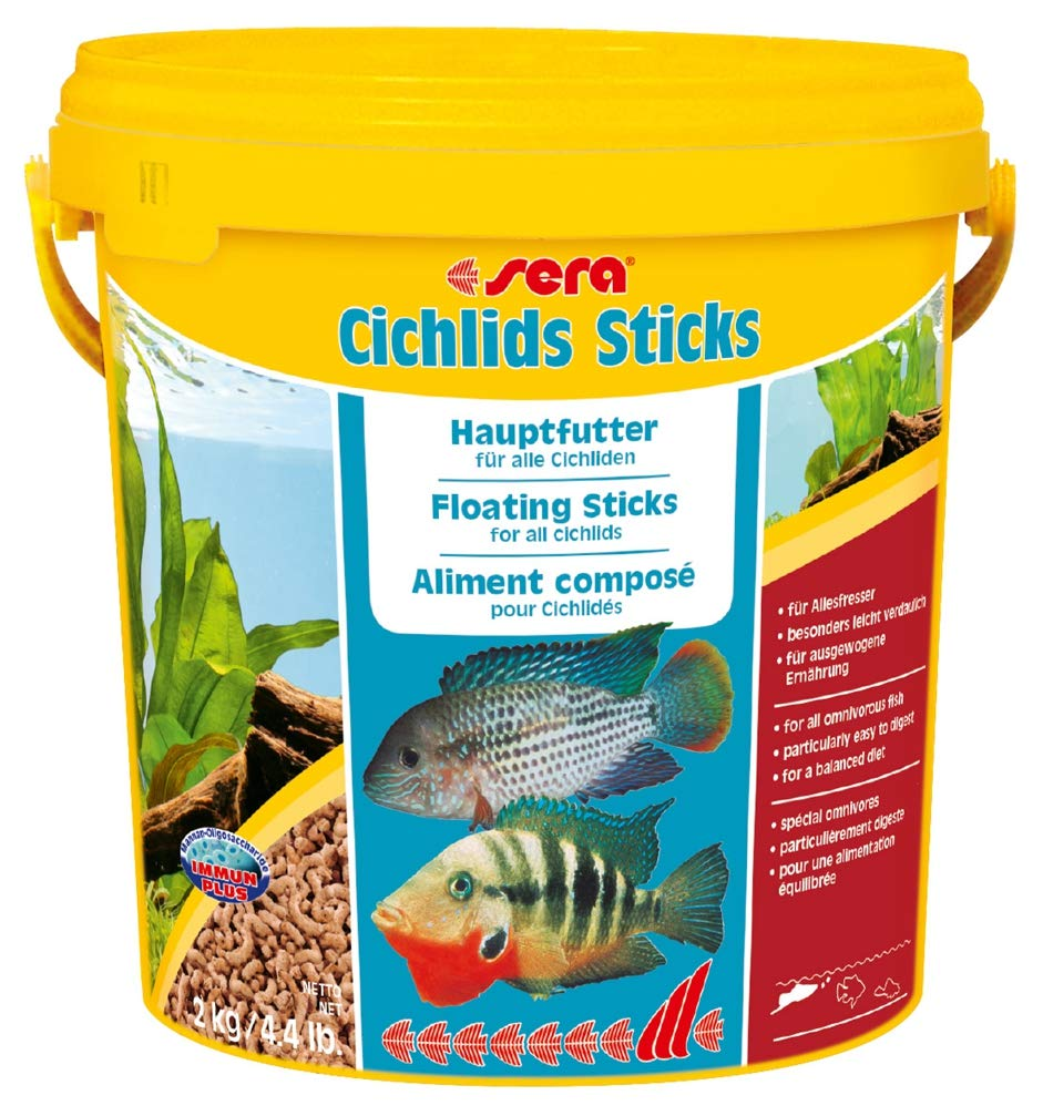 10 L sera Cichlid Sticks, 10 Litre  2.5 Kg