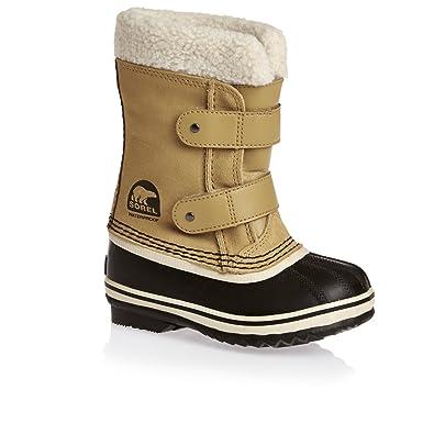 7fa8b882f4584 Sorel Unisex Kids  Childrens 1964 Pac Strap Snow Boots  Amazon.co.uk  Shoes    Bags
