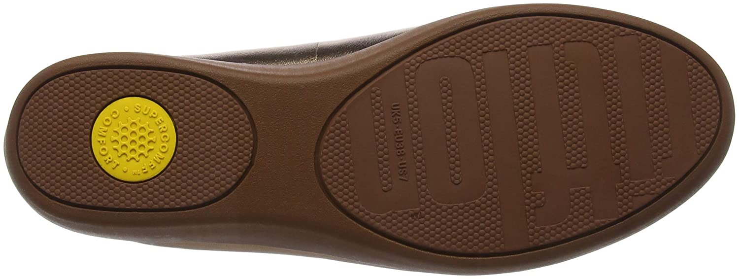 FitFlop FitFlop FitFlop Damen Audrey Metallic Smoking Slippers Slipper 108030