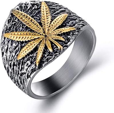 bague en or cannabis