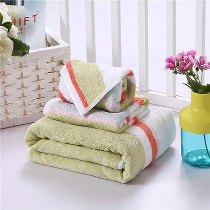 Toallas de baño de algodón de primera calidad - toallas de baño 100% algodón, fácil cuidado, ...