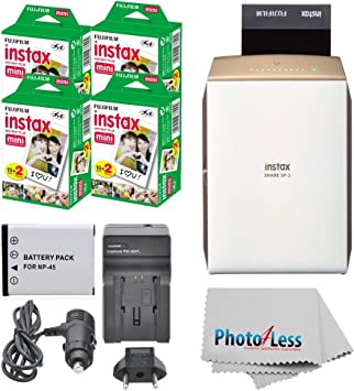 Amazon.com: FUJIFILM INSTAX Share SP-2 - Impresora para ...