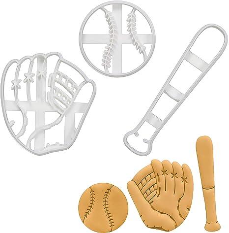 Baseball Bat 100 Cookie Cutter Set