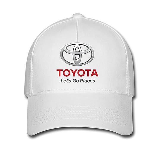 18f39e416cf02 Amazon.com  DEBBIE Unisex Toyota Logo Baseball Caps Hat One Size  (4317265556514)  Books