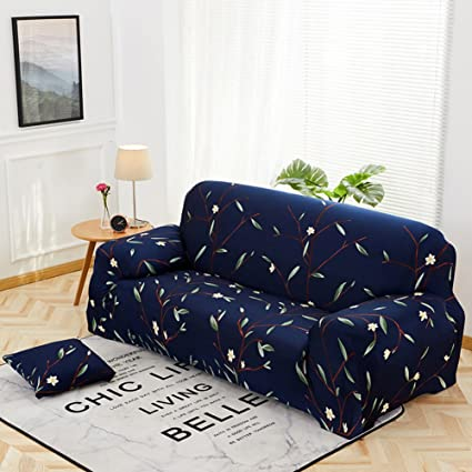 Amazon.com: YQ WHJB Elastic Slipcover Sofa,Plant Flowers ...