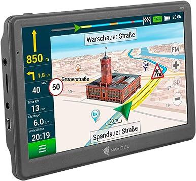 navitel deutschland karte Navitel E700TMC GPS Navi: Amazon.de: Elektronik