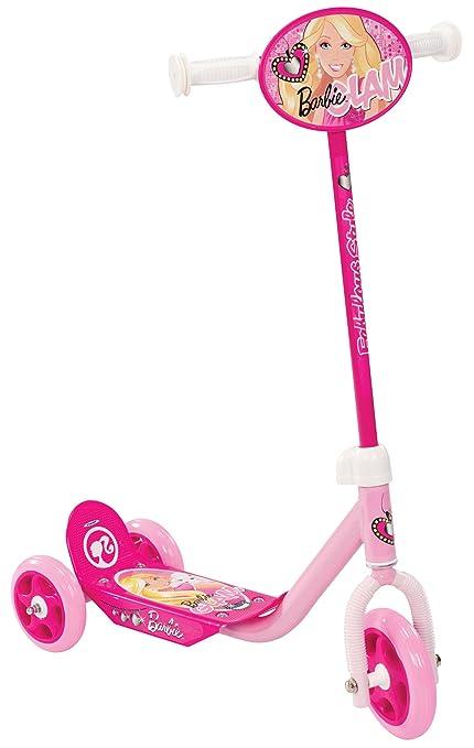 Stamp - Patinete con 3 ruedas, diseño Barbie (CB901320 ...