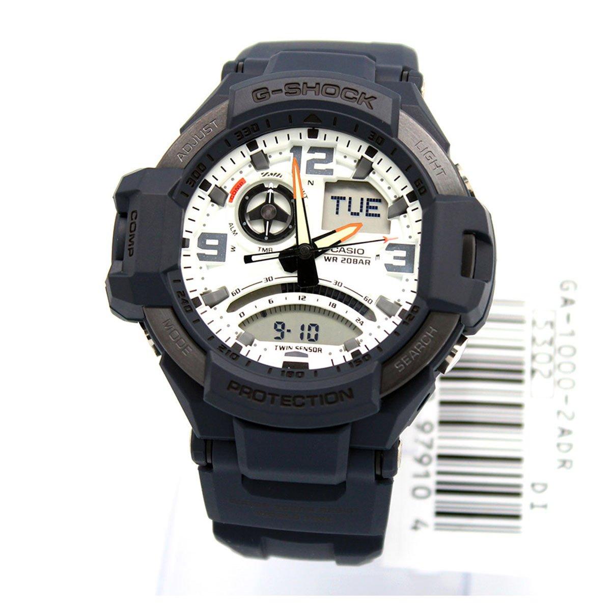 Casio G-shock GA1000-2A Gravity Defier Dark Blue Resin Watch