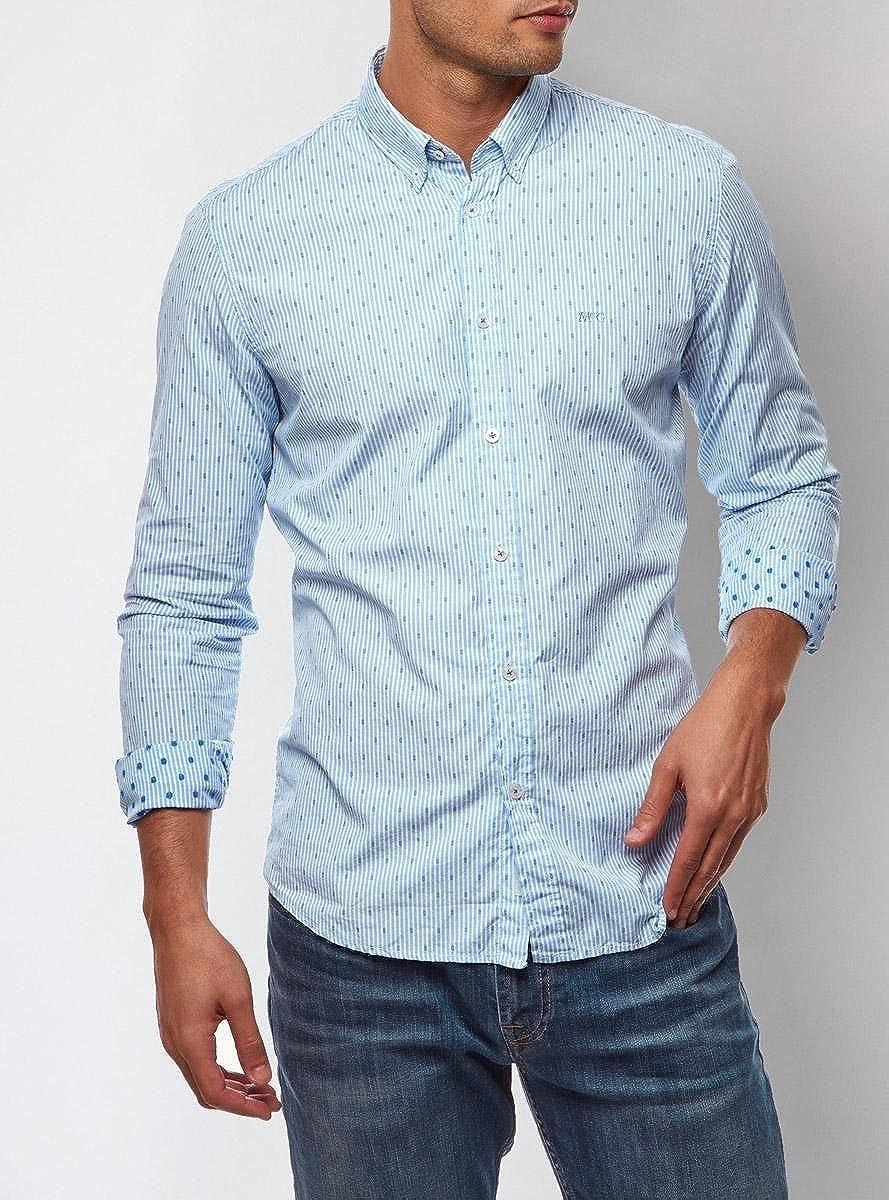 Camisa McGregor Oscar Bedford Azul XXL Azul: Amazon.es: Ropa y accesorios