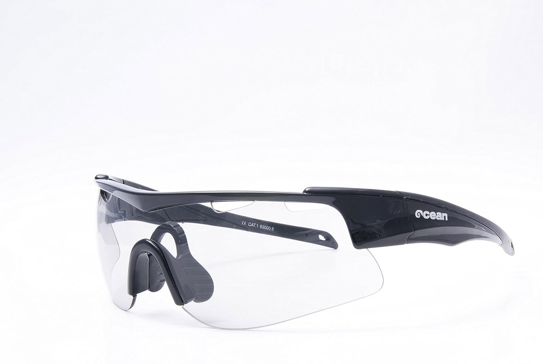 OCEAN SUNGLASSES Alpine - lunettes de soleil - Monture : Noir LaquÃBlackroll - Verres : Photochromatique (93000.6) 5BTrLma