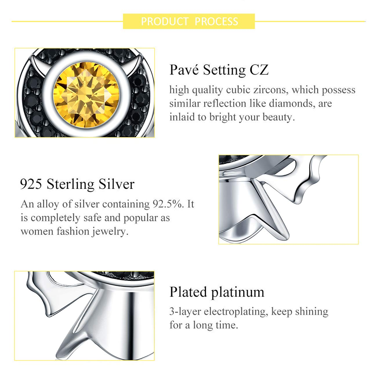 Fine Charms & Charm Bracelets Popular Brand Sterling Silver Reflections Kids Puppy Bead Rapid Heat Dissipation